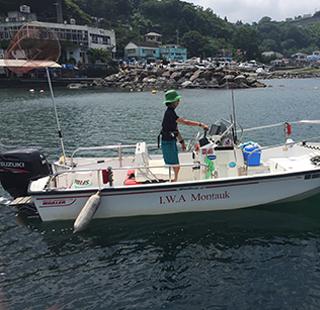 ボートで遊ぶ    Boating Activityのイメージ