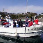 漁船を仕立てて女子釣り満喫