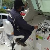 助手席シート仮設置